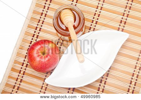 Pouring Honey For Rosh Hashana