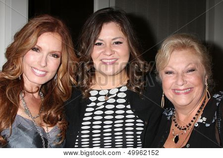 LOS ANGELES - AUG 24:  Tracey E. Bregman, Angelica McDaniel, Beth Maitland at the Young & Restless Fan Club Dinner at the Universal Sheraton Hotel on August 24, 2013 in Los Angeles, CA
