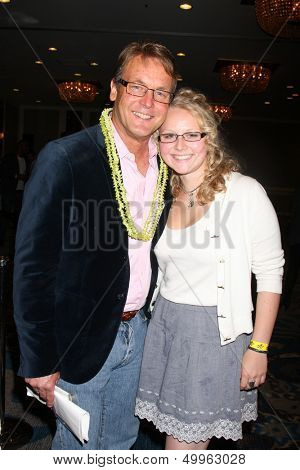 LOS ANGELES - AUG 24:  Doug Davidson Calyssa Davidson at the Young & Restless Fan Club Dinner at the Universal Sheraton Hotel on August 24, 2013 in Los Angeles, CA