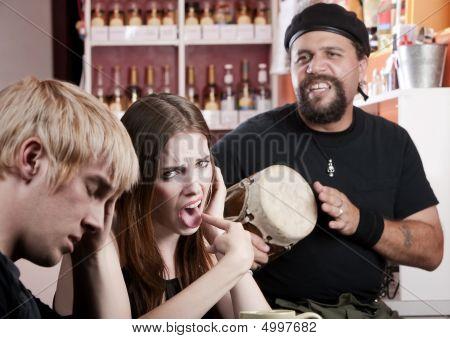 Bad Coffee House Musician