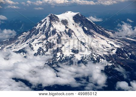 Mount Rainier...