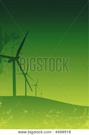 Turbine Grunge Green