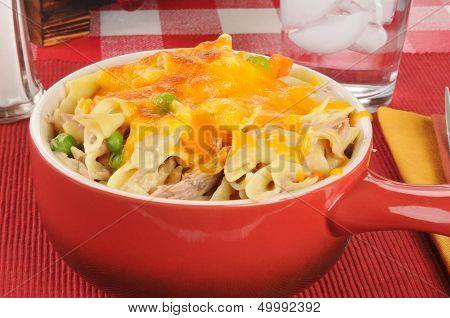 Tuna Casserole With Cheese