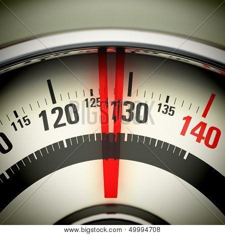 Overweight - Bathroom Scale