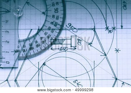 Protractor On Graph