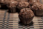 stock photo of brazilian food  - Brigadeiro - JPG