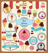 foto of gelato  - Collection of Ice Cream Design Elements - JPG