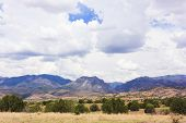 picture of leopold  - A View of the Gila Wilderness from the Aldo Leopold Vista Picnic Area New Mexico - JPG