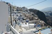 Santorini By Day poster