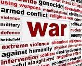 pic of chemical weapon  - War armed conflict message - JPG