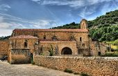 Ancient convent of Vadillo in Frias poster