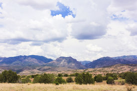 pic of leopold  - A View of the Gila Wilderness from the Aldo Leopold Vista Picnic Area New Mexico - JPG