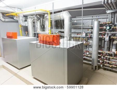Boiler-house image