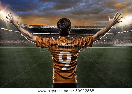 Dutchman Soccer Player
