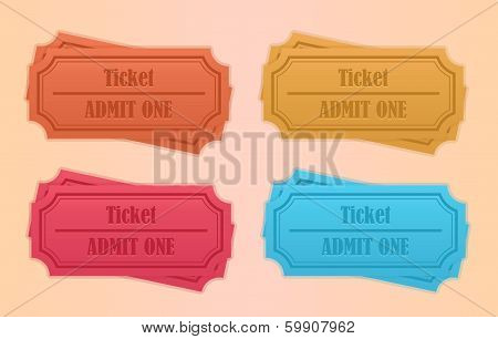 Retro tickets
