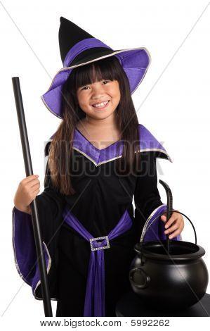 Happy Little Halloween Witch