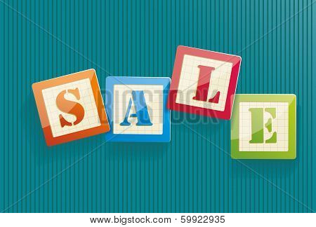 Big Sale Text With Copy Space, Vector