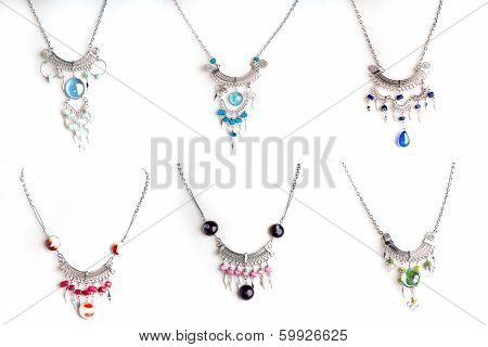 Peruvian Beaded Necklace Set