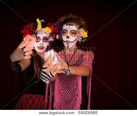Day Of The Dead Selfie