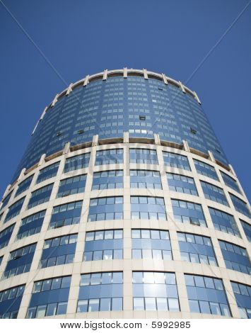 Finance building. Modern Architecture.