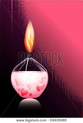 Romantic Candle