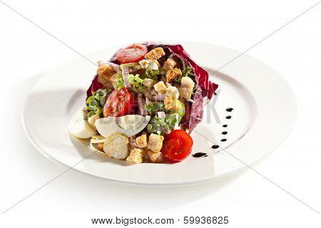 Salad with Smoked Brisket