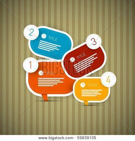 Paper Progress Steps for Tutorial, Infographics