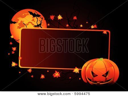 Halloween ,place ,card