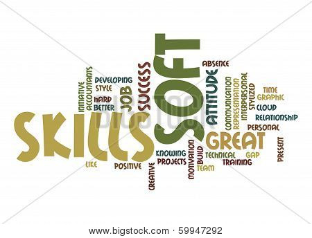 Soft Skills Word Cloud