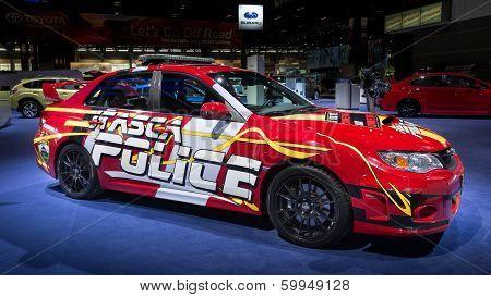 2013 Itasca Police Subaru Impreza STI