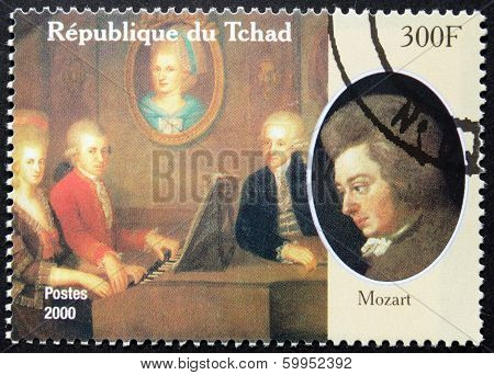 Mozart Stamp
