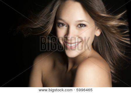 Brunette Model