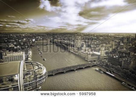 Vintage London Panorama
