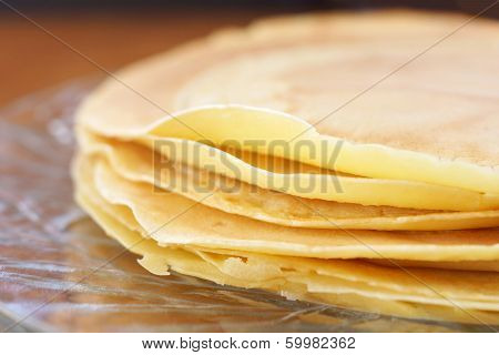 Crepes Closeup