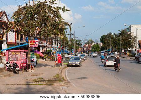 On The Street In Ao Nang