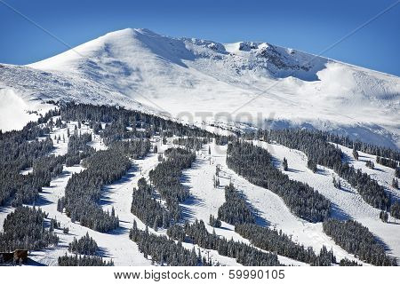 Summit County Ski Slopes