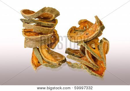 Sliced Dried Bael Fruit