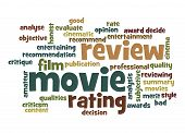 Movie Review Word Cloud