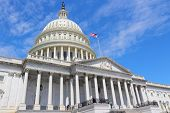 picture of capitol building  - Washington DC capital city of the United States - JPG