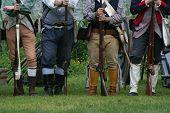 Colonial Militiamen