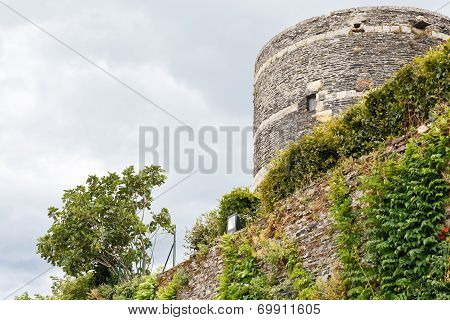 Pinion Walls In Angers Castle, France