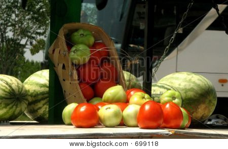 Tomatoes And Watermelons