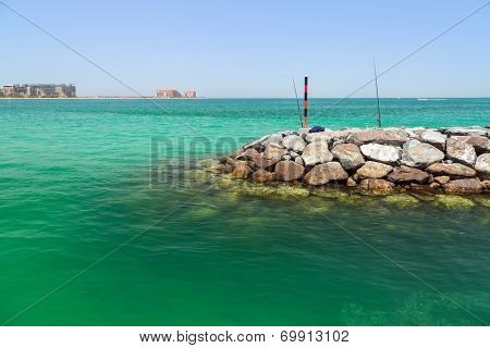 Fishing in Dubai, United Arab Emirates