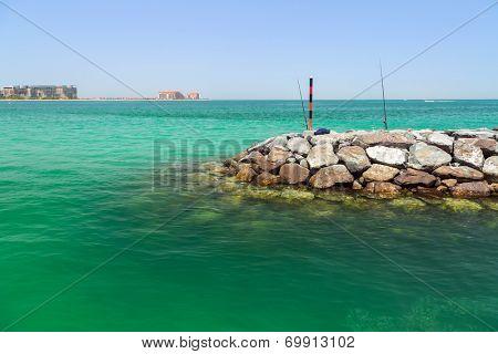 Fishing in Dubai, United Arab Emirates
