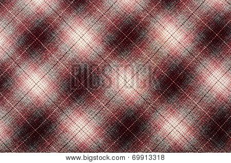 Tartan pattern. Pink plaid print as background.