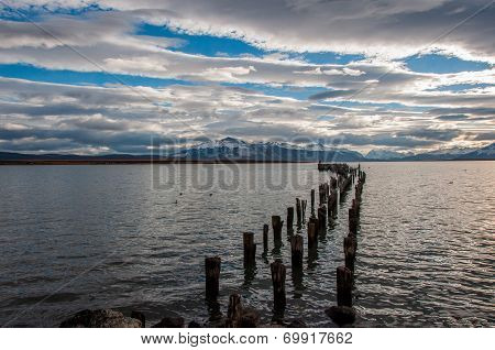 By The Waterside In Puerto Natales, Chile
