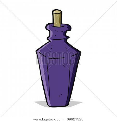 cartoon perfume fragrance bottle