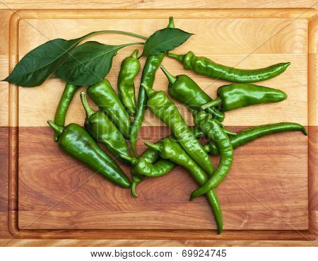 Mess of Green Peppers