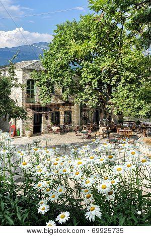 Aristi In Zagori Area, Northern Greece
