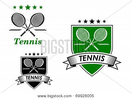 Tennis  sporting emblems